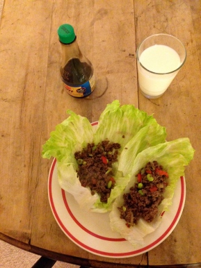 From My Table- Lettuce Wraps