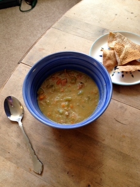 From My Table- Long Cooked Split Pea Soup